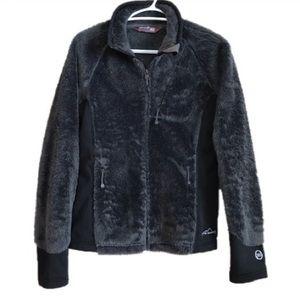 Eddie Bauer Long Sleeve Full Zip Sweater Jacket